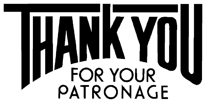 Thanks-patronage