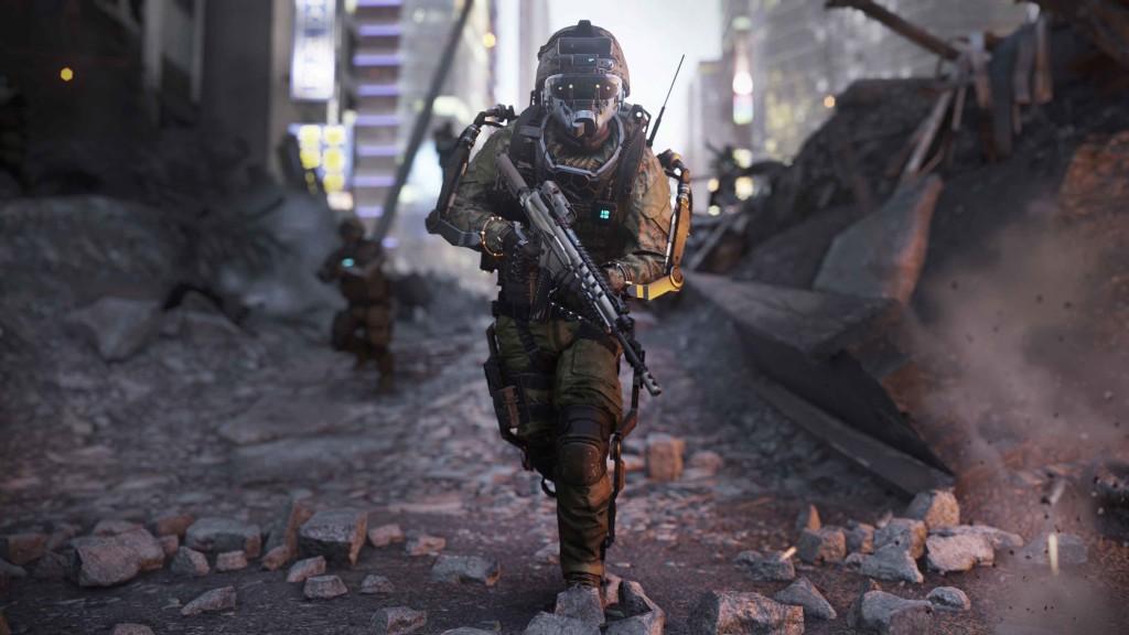 Advanced Warfare Vision Mode