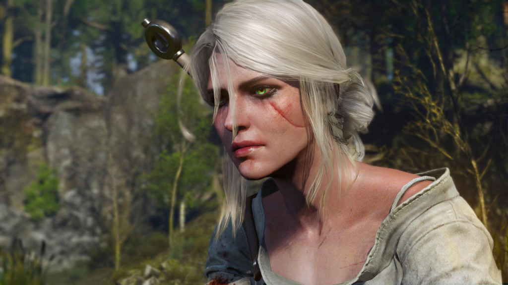 Ciri is the surrogate daughter of Geralt, the game's main protagonist. She becomes the player character at one point in the journey.
