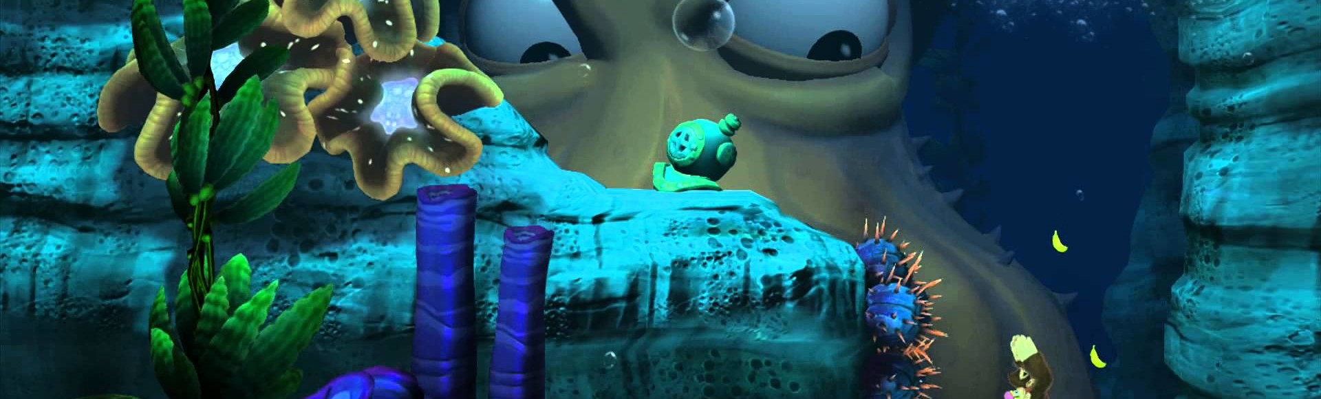 Donkey Kong Country: Tropical Freeze Part 9 – More Underwater Stages!