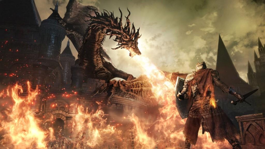 Dark Souls III Dragon