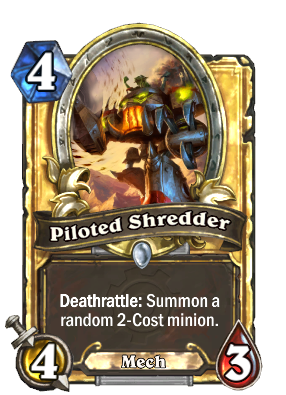 Piloted Shredder