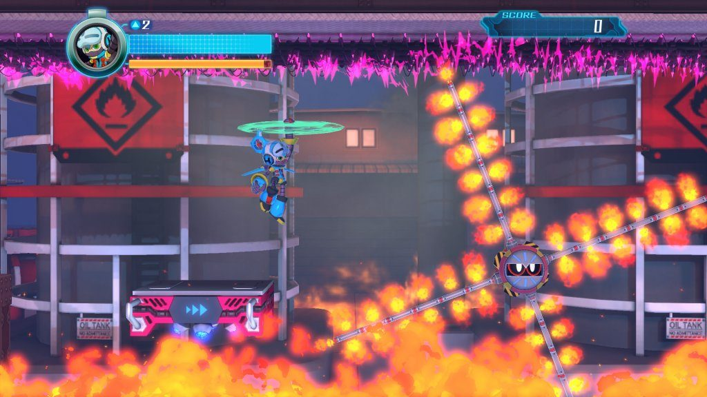 Mighty No. 9 obstacles