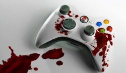 Image-of-controller-depiciting-violence-in-video-games-debate