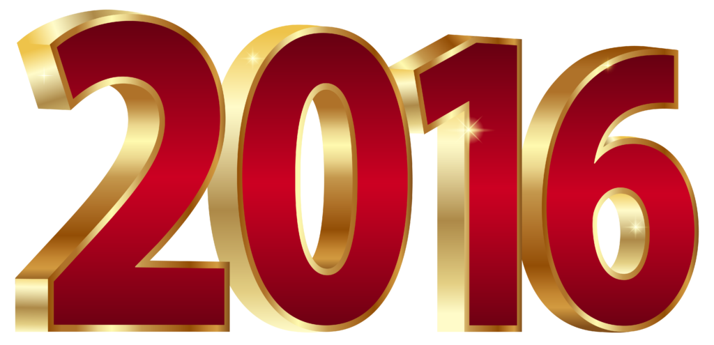 2016_Gold_and_Red_PNG_Clipart_Image