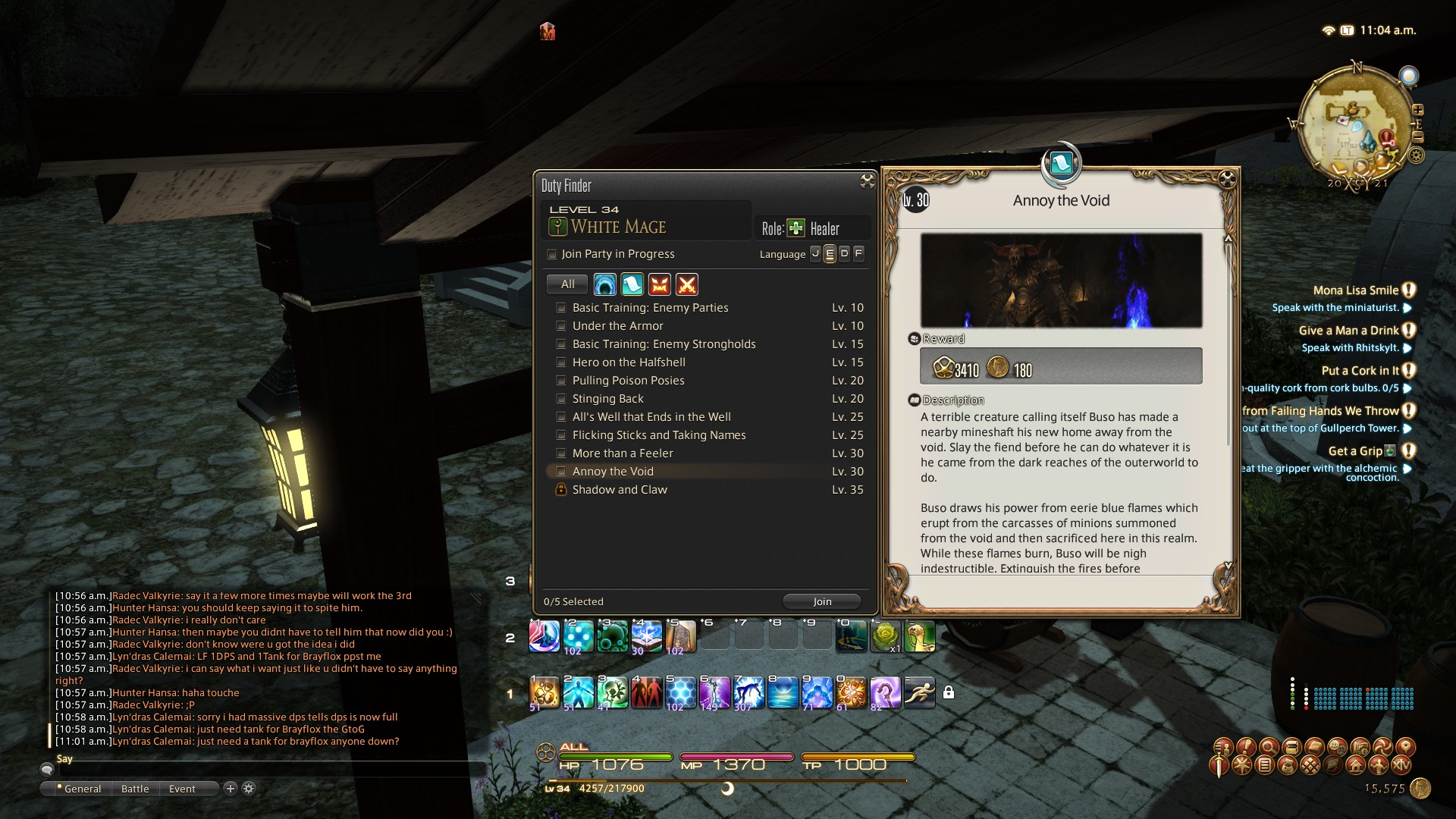 Review: Final Fantasy XIV: A Realm Reborn Journal (**** stars)
